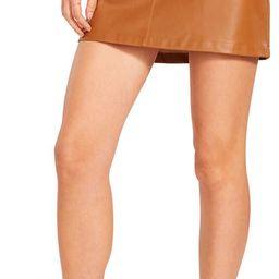 BB Dakota Basel Faux Leather Miniskirt | Nordstrom | Nordstrom