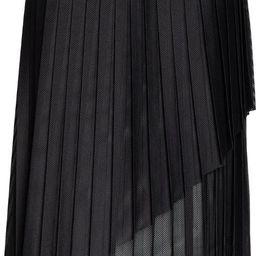 Mesh Overlay Pleated Skirt | Nordstrom | Nordstrom