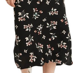 Botanical Print Midi Skirt | Nordstrom | Nordstrom