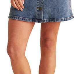 Natalia Button Front Denim Skirt | Nordstrom | Nordstrom