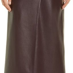 Amas Faux Leather Sarong Midi Skirt | Nordstrom | Nordstrom