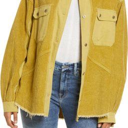 Frayed Corduroy Shirt Jacket   Nordstrom   Nordstrom