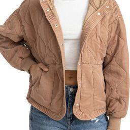 Quilted Hooded Jacket | Nordstrom | Nordstrom