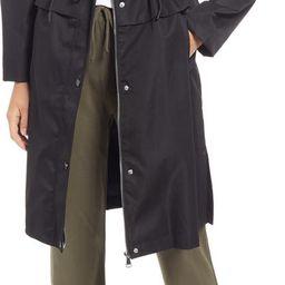 Women's Cinch Waist Hooded Raincoat | Nordstrom | Nordstrom