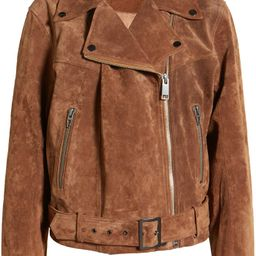 Suede Moto Jacket | Nordstrom | Nordstrom