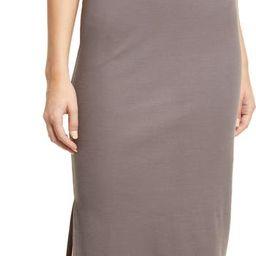 Rib Turtleneck Sleeveless Midi Dress | Nordstrom | Nordstrom