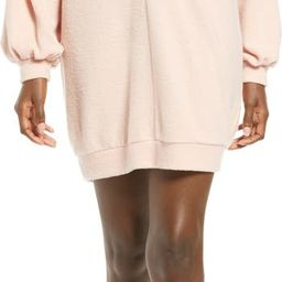 Cozy Double V Long Sleeve Throw On Dress | Nordstrom | Nordstrom
