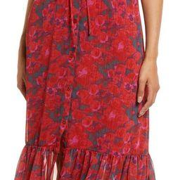 Crinkle Chiffon Shirtdress | Nordstrom | Nordstrom