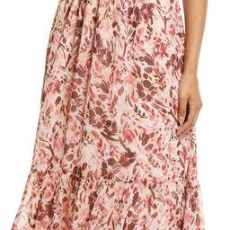 Floral Print Smocked Maxi Dress | Nordstrom | Nordstrom