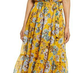 Floral Halter Neck Maxi Dress   Nordstrom   Nordstrom