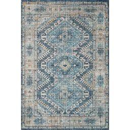 Skye Rug Blue/Natural/Terracotta - Loloi Rugs | Target