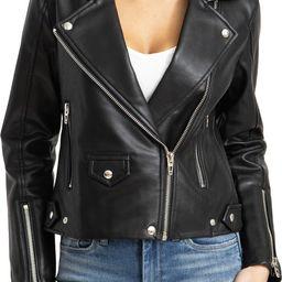 Faux Leather Moto Jacket   Nordstrom   Nordstrom