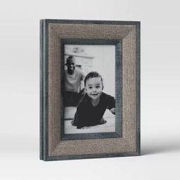 "4"" x 6"" Fabric Wrap Frame Brown - Threshold™ | Target"