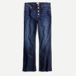 """9"""" demi-boot crop jean in Dark Worn wash   J.Crew US"""