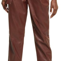 Faux Leather Trousers | Nordstrom | Nordstrom
