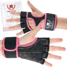 Cross Training Gloves with Wrist Support for Gym Workouts, WOD, Weightlifting & Fitness - Silicon... | Amazon (US)
