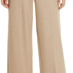 Wide Leg Flannel Pants | Nordstrom