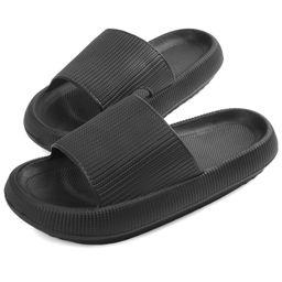 VONMAY Pillow Slides for Women Men Summer Slip On Slides Soft Thick Sole Non Slip Shower Sandals | Walmart (US)