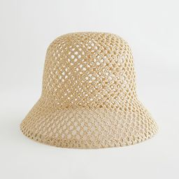 Woven Straw Bucket Hat   & Other Stories