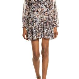 Floral Long Sleeve Chiffon Dress | Nordstrom