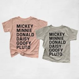 Disney Mickey Mouse, Minnie Mouse, Donald Duck, Daisy, or Pluto youth t-shirt / Toddler Disney Sh... | Etsy (US)