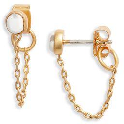 Opal Chain Stud Earrings   Nordstrom