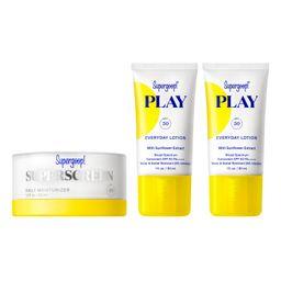 Supergoop! Superscreen Daily Moisturizer SPF 40 Sunscreen Set   Nordstrom