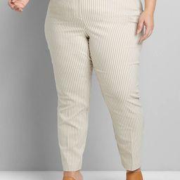 Lane Essentials Madison Ankle Pant - Striped | Lane Bryant (US)