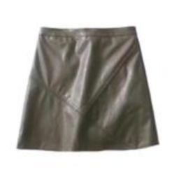 'Peyton' Faux Leather Mini Skirt (4 Colors)   Goodnight Macaroon