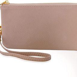 Humble Chic Vegan Leather Wristlet Wallet Clutch Bag - Small Phone Purse Handbag for Women | Amazon (US)