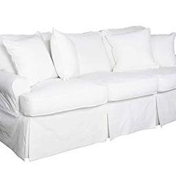 Sunset Trading SU-117600SC-423080 Horizon Sofa - Slip Cover Set Only - Warm White | Amazon (US)