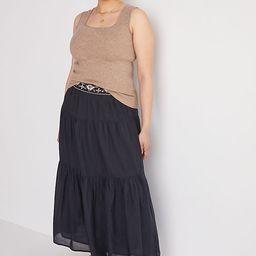Beaded Maxi Skirt   Anthropologie (US)