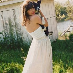 Burnout Lace Maxi Skirt   Anthropologie (US)