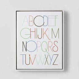 Alphabet Wall Art - Pillowfort™   Target