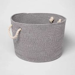 Large Round Coiled Rope Basket - Cloud Island™ | Target