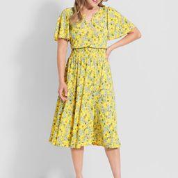 Spritely As Spring Midi Dress | ModCloth