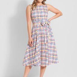 ModCloth x Collectif Watercolor Dreamline Swing Dress | ModCloth