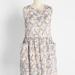 Gathering Wildflowers Smock Dress | ModCloth