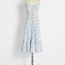 Party on the Prairie Grounds Midi Dress | ModCloth