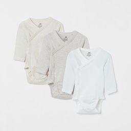 3-pack Long-sleeved Bodysuits | H&M (US)