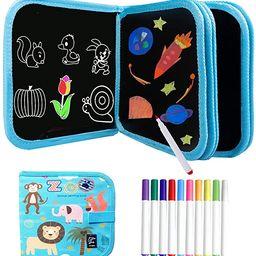 Kids Erasable Doodle Book Set - Toddlers Activity Toys Reusable Drawing Pads, Preschool Travel Ar... | Amazon (US)