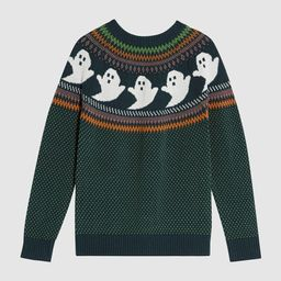 You've Been Ghosted Fair Isle Sweater | ModCloth