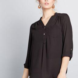 Pam Breeze-ly Long Sleeve Tunic | ModCloth