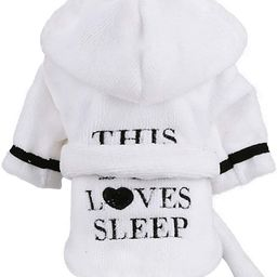 Stock Show Pet Pajama with Hood Thickened Luxury Soft Cotton Hooded Bathrobe Quick Drying and Sup... | Amazon (CA)