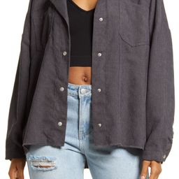 Women's Oversized Corduroy Shirt Jacket | Nordstrom | Nordstrom