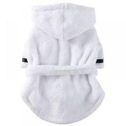 Pet Pajama Dog Bathrobe Soft Super Absorbent Thickened Luxuriously 100% cotton Polyester Dog Drying  | Walmart (US)