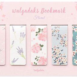 Monolike Magnetic Bookmarks Floral, Set of 5 | Amazon (US)