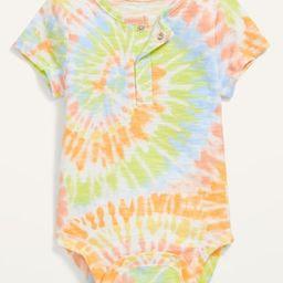 Short-Sleeve Henley Bodysuit for Baby | Old Navy (US)