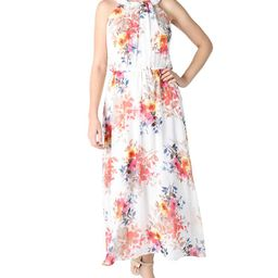 Robbie Bee                                   Petite Floral-Print Maxi Dress | Macys (US)