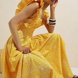 SIKA Marigold Ruffled Maxi Dress | Anthropologie (US)